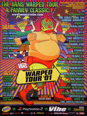 Warped Tour 2001