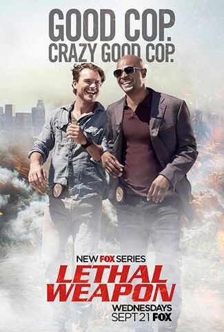 Lethal Weapon TV series poster