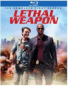Lethal Weapon TV series Blu-ray