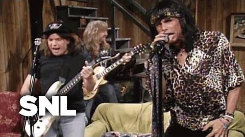 Wayne's World Aerosmith - SNL