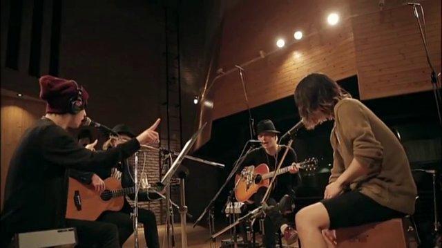 One Ok Rock - The Beginning Acoustic (Studio Jam Session)