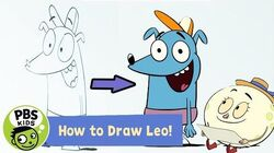 Let's Go Luna ✏️How to Draw Leo! PBS KIDS