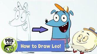 Let's Go Luna ✏️How to Draw Leo! PBS KIDS