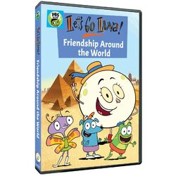 Lets Go Luna Friendship Around the World DVD