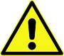 LGL Warning Sign Logo