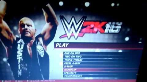 WWE 2K16 Universe Mode Episode - Setup Video