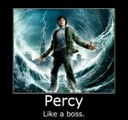 Percy lika boss