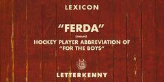 FerdaDefinition