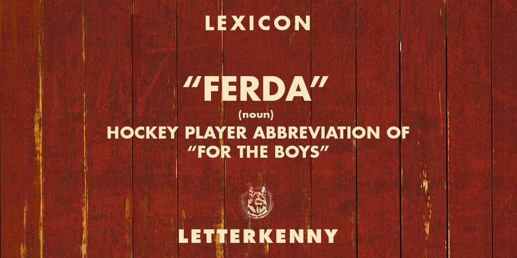 Slang Terms | Letterkenny Wikia | FANDOM powered by Wikia