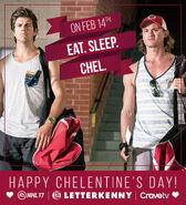 ChelentinesDay EatSleepChel