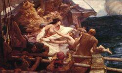 La toison d'or par Herbert DRAPER 1904