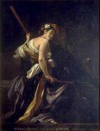 Euterpe, Muse de la Musique de Giovanni Baglione