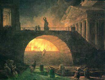 Incendie rome