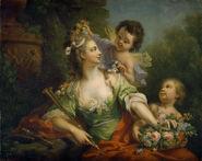 La Muse Euterpe de Johann Heinrich Tischbein l'Aîné