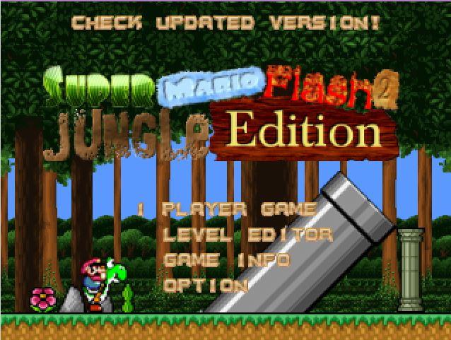 Super Mario Flash 2: Jungle Edition   Level Palace Wiki