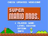 Super Mario Bros Flash