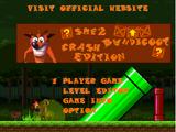 Super Mario Flash 2: Crash Bandicoot Edition