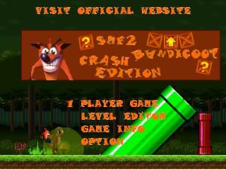 Crash Bandicoot Edition Title