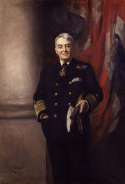 John Arbuthnot Fisher, 1st Baron Fisher by Sir Hubert von Herkomer