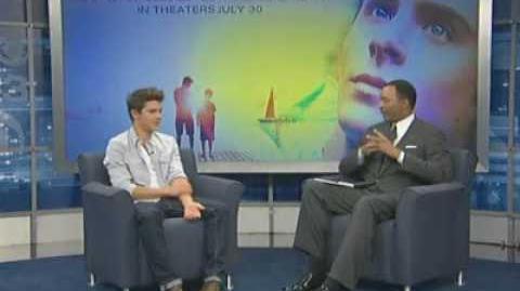 CBS3 Philadelphia Interview with Zac Efron