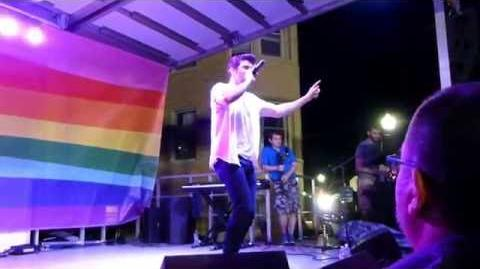 """Steve Grand """"We Are The Night"""" Ready Set Pride 2016 Pittsburgh"""
