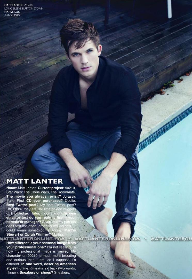 Matt lanter dating history