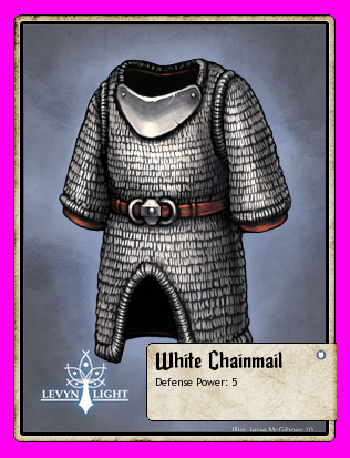 White Chainmail