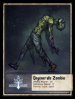 Degenerate Zombie