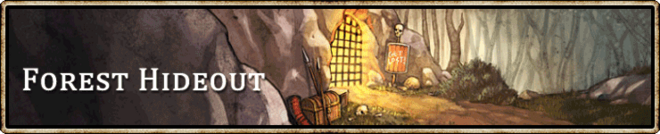 Location banner Forest hideout