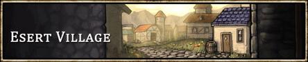 Location banner Esert Village