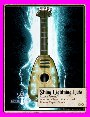 Shiny Lightning Lute