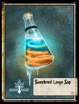 Sweetened Levyn Sap