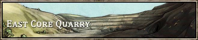Location banner East Core Quarry