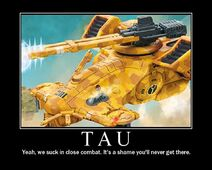 Tau Firepower Demotivator