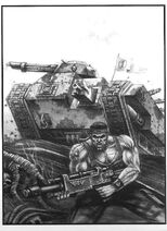 26402 md-2nd Edition, Catachan, Chimera, Copyright Games Workshop, Imperial Guard
