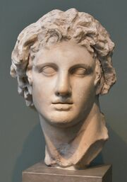 Alexander the Great, from Alexandria, Egypt, 3rd cent. BCE, Ny Carlsberg Glyptotek, Copenhagen (5) (36375553176)