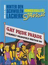 Hinter den schwulen Lachern- Homosexualität bei den Simpsons (Cover)