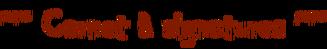 Carnet signatures2
