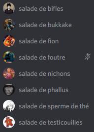 Salades 2