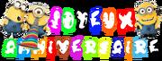 Anniversaire Site Minions