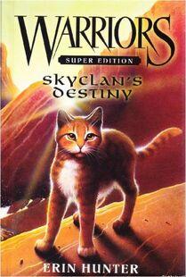 Edition américaine intérieur SkyClan's Destiny