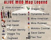 Am-легенда карты