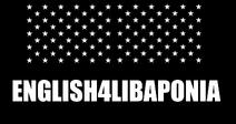 ENGLISH4LIBAPONIA Logo