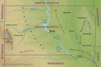 Southdakota-map