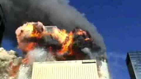 Rare 9 11 WTC Attack Footage Insane Sound!