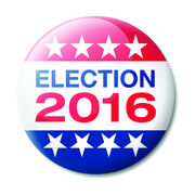 Election 2016 badge