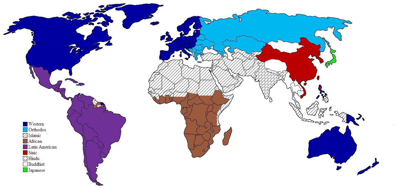 Western World Liberapedia FANDOM Powered By Wikia - World map west