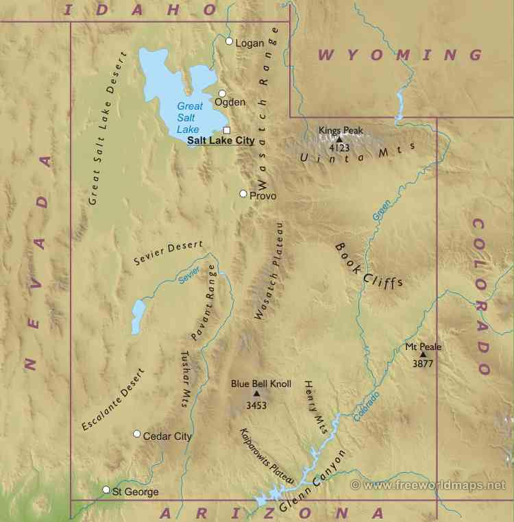Utah Liberapedia FANDOM Powered By Wikia - State of utah map