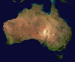 Australia satellite