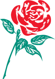 Labour-rose logo